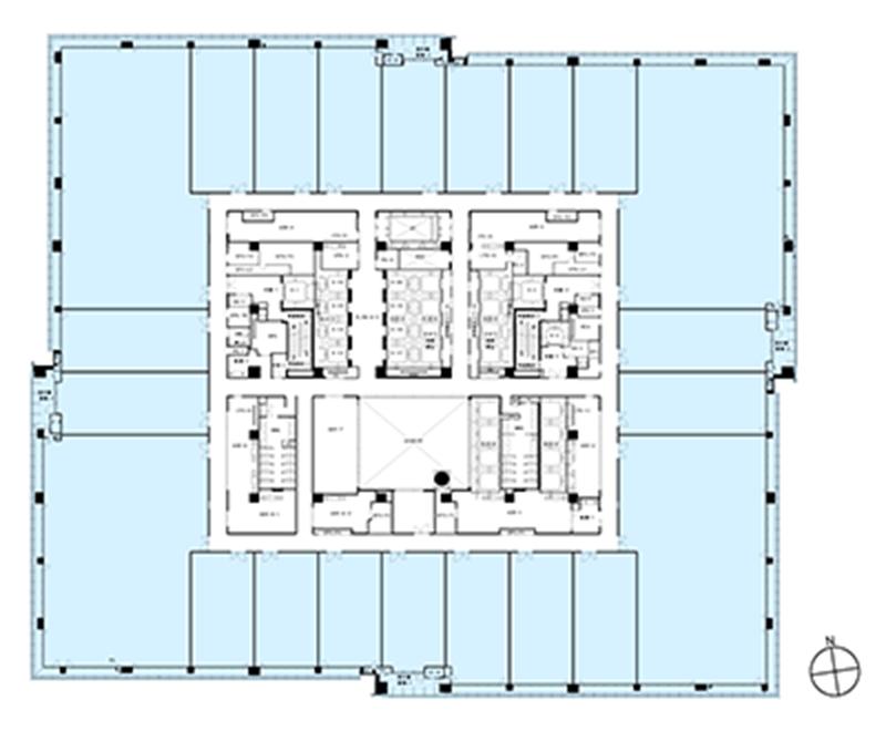 Floor Plan Otemachi Financial City Grand Cube Mitsubishi Estate